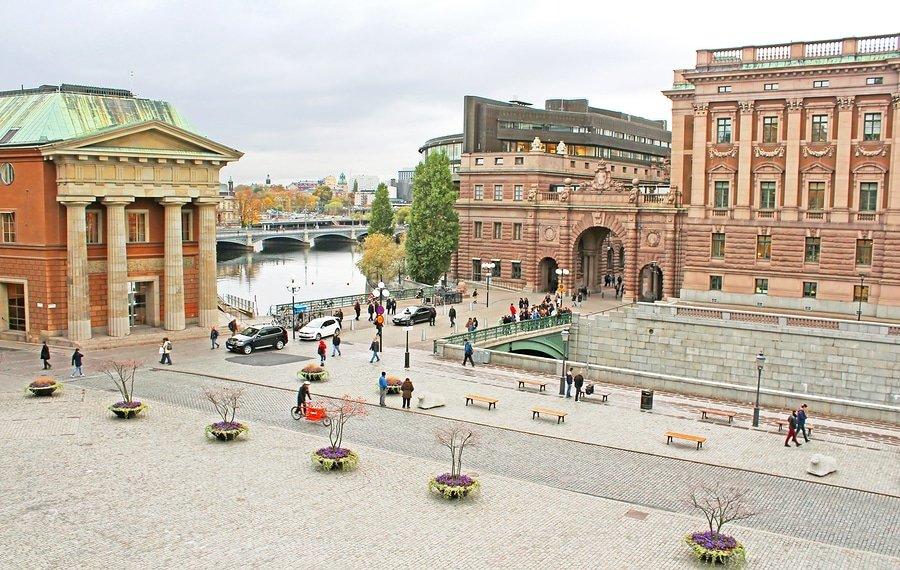 Sweden Riksdag, Stockholm, Sweden
