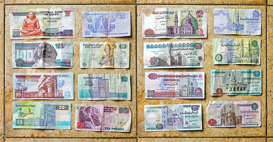 Egyptian Pounds currency