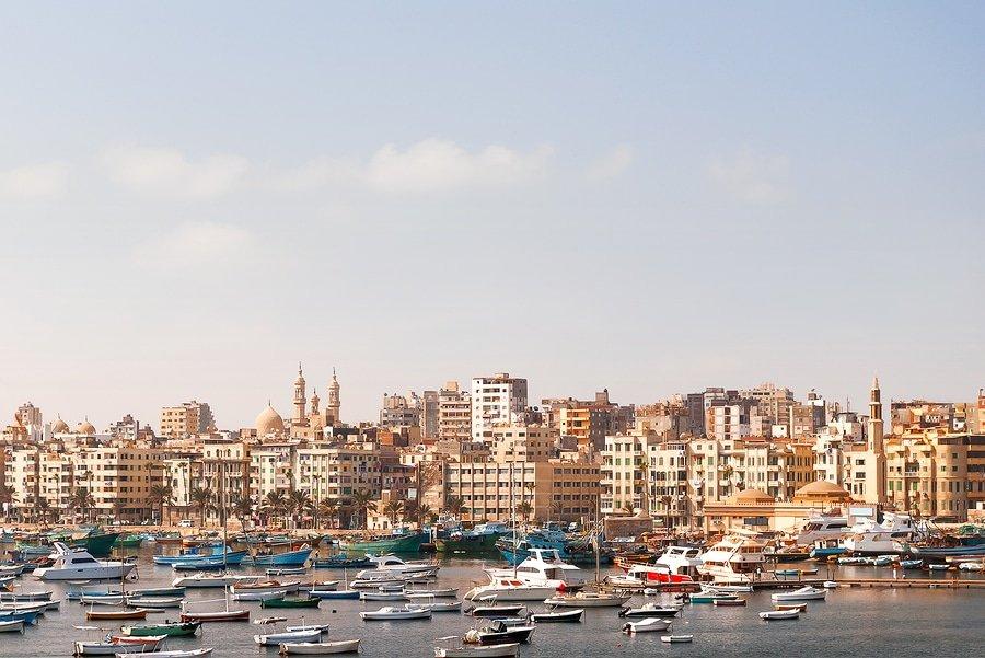 Panorama view of Alexandria
