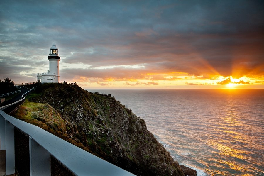 The lighthouse in Byron Bay, New South Wales, Australia
