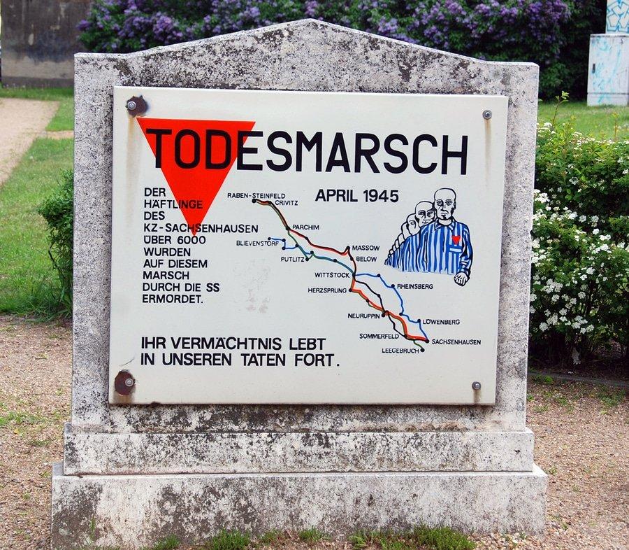 Memorial of Death March, Sachsenhausen