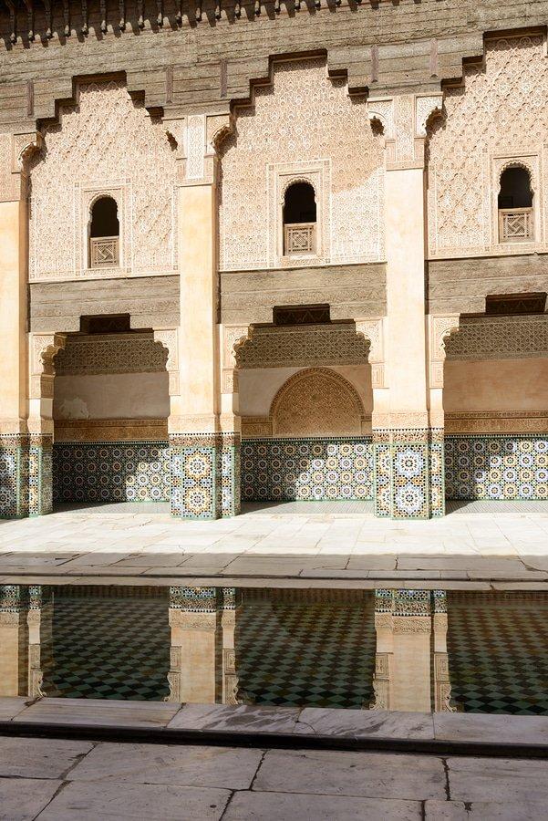 The Ben Youssef Madrasa, Marrakech