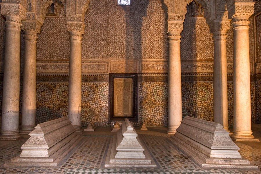 Marrakech Saadians Tombs