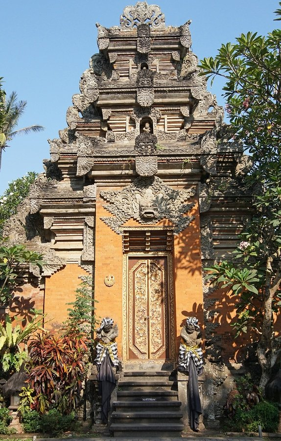 Puri Saren, sights of Ubud, Bali, Indonesia
