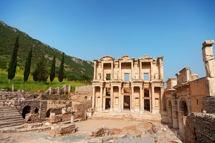 Ephesus library, Turkey