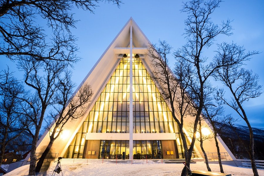 The Arctic Cathedral, Tromso, Norway