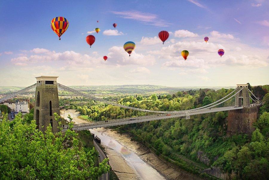 Bristol's Clifton Suspension Bridge