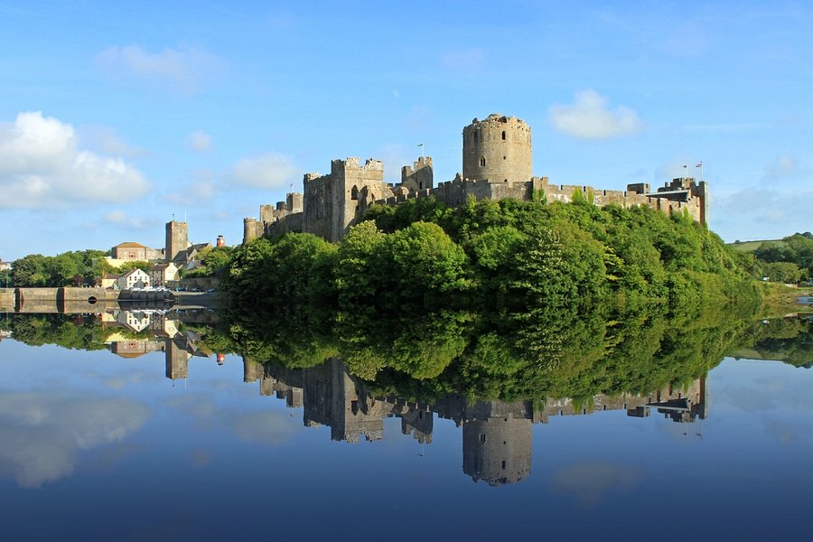 The historic Pembroke in Wales