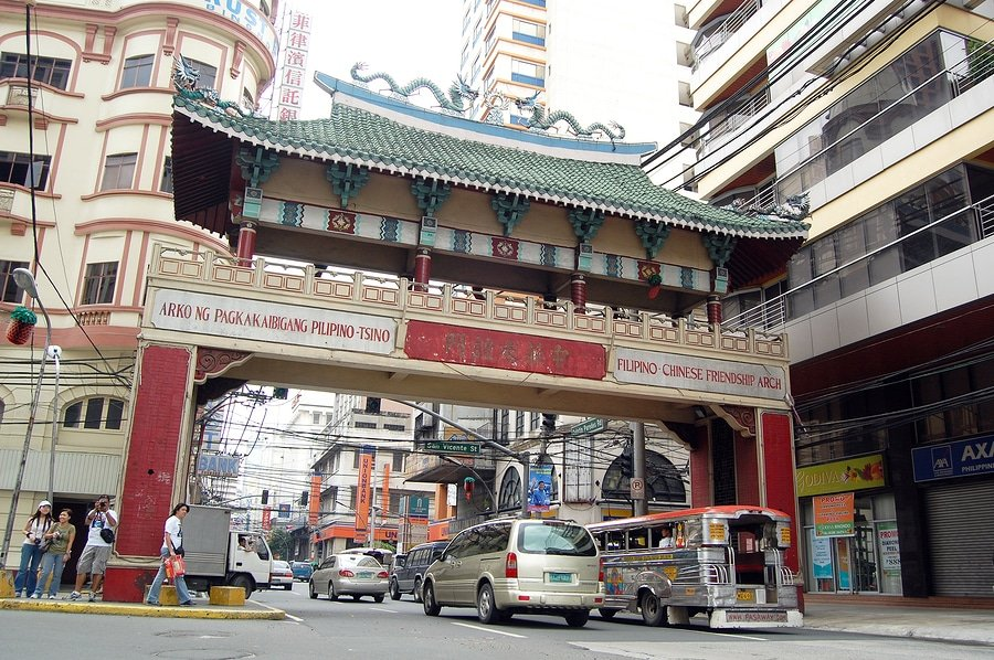 Arch of Filipino-Chinese Friendship in Binondo, Manila, Philippi