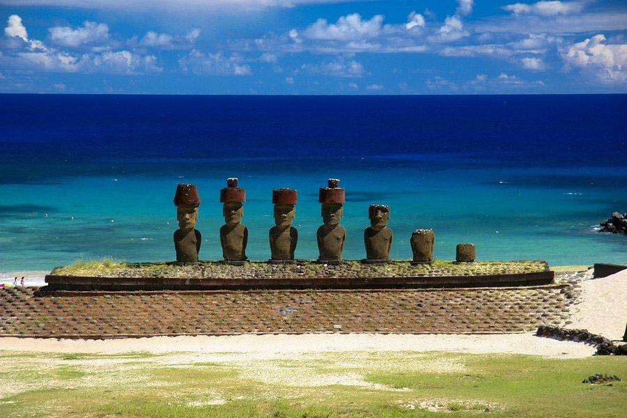 Anakena Beach - Easter Island