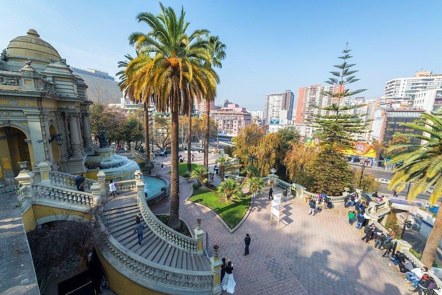 Santa Lucia Park, Santiago, Chile