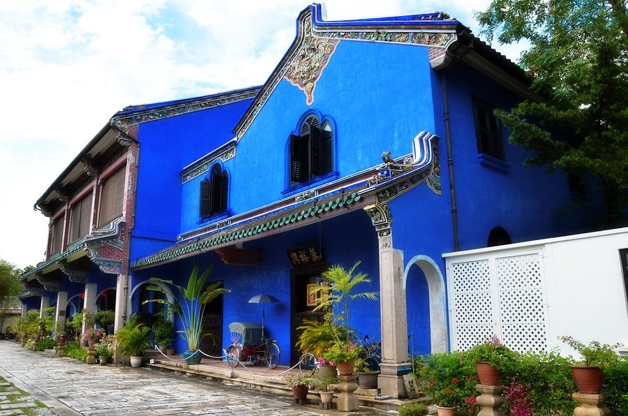 Exterior View Of Cheong Fatt Tze Mansion, Penang