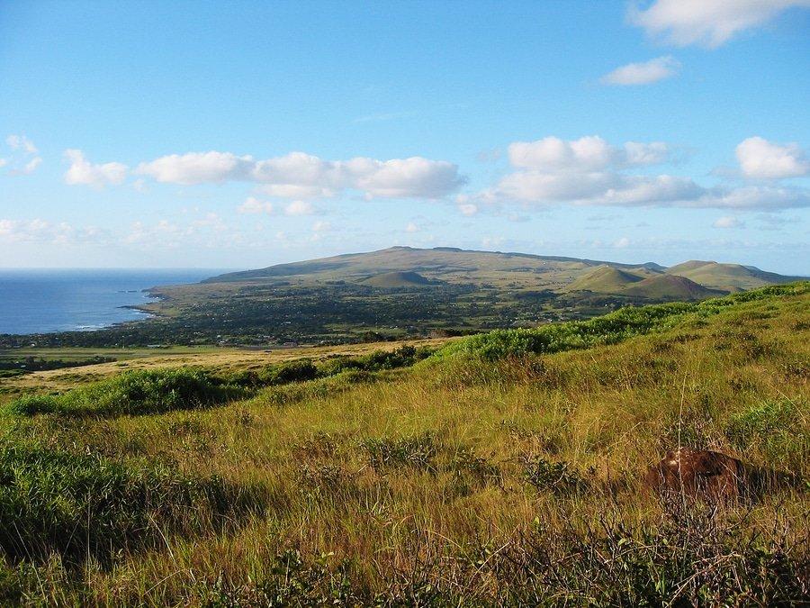 Landscape of Easter Island