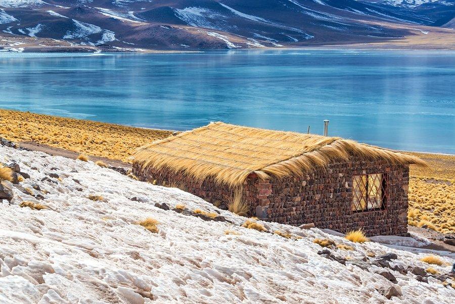 Miscanti Lagoon In Chile