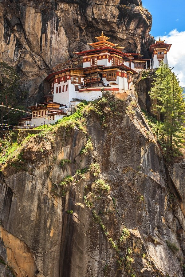 You wonder if what you see is real, Tiger's Nest - Paro Taktsang, Bhutan