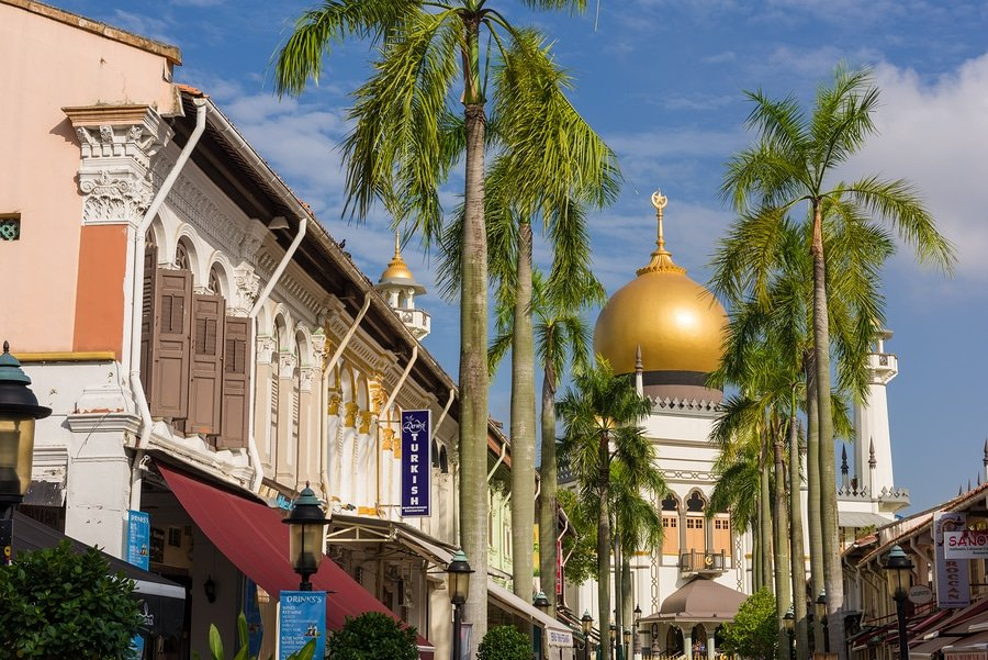 Sultan Mosque at Kampong Glam, Singapore