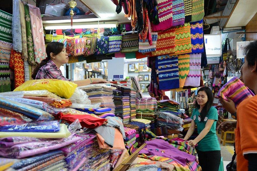 Bogyoke market, Yangon, Myanmar