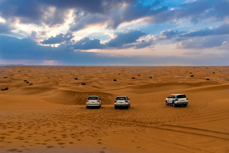Dune Bashing-UAE