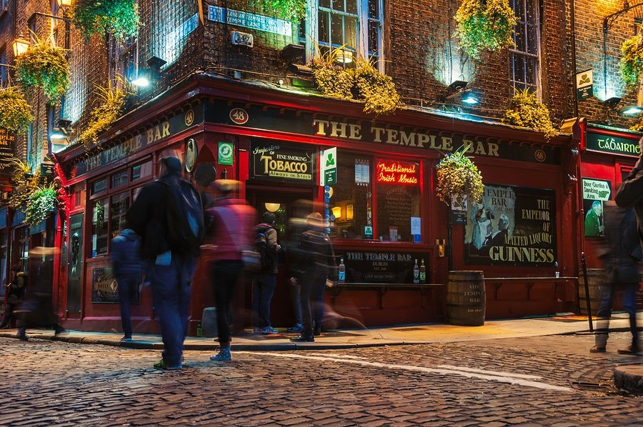 Temple bar quarter, Dublin