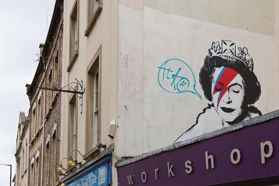 Banksy, the Royal Queen, Bristol
