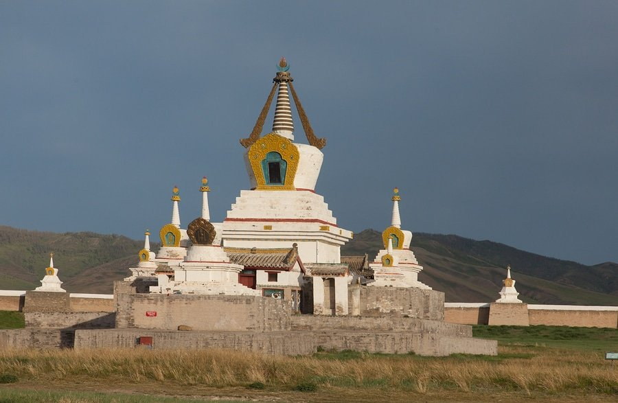 Buddhist Monastery Erdene-Zuu, Mongolia