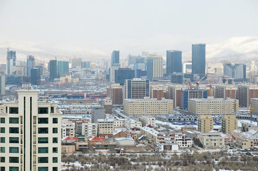 View of Ulaanbaatar, Mongolia