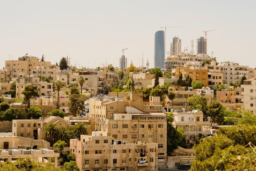 Cityscape of Amman, Jordan