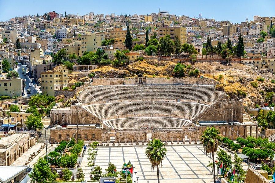 The Roman Amphitheater, Amman, Jordan